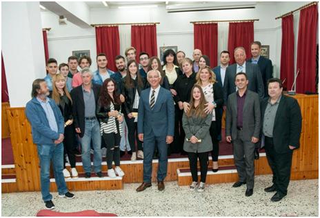 Εκδήλωση βράβευσης επιτυχόντων μαθητών σε ΑΕΙ και ΑΤΕΙ