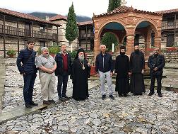Ομάδα Ρώσων δημοσιογράφων επισκέφθηκαν την Ιερά Μονή Ζάβορδας