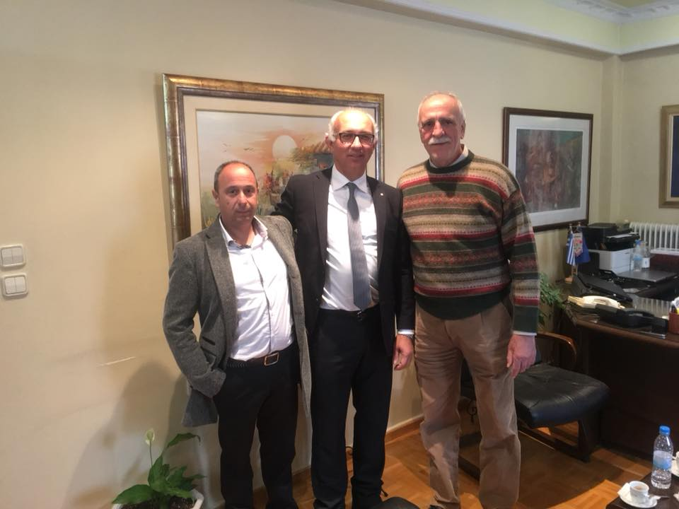 Συνάντηση Δημάρχου με τον κ. Σεβαστή Βασίλειο, Γενικό Γραμματέα του ΣΕΓΑΣ