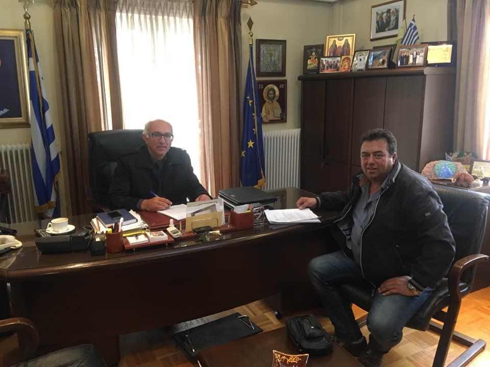 Υπογραφή συμβάσεων τριών μεγάλων έργων  στο Δήμο Δεσκάτης