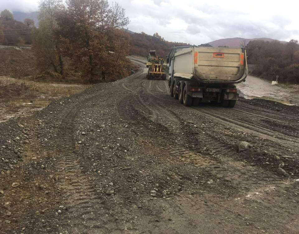 Συνεχίζονται τα μεγάλα έργα υποδομής του Δήμου Δεσκατης  στον πρωτογενή τομέα