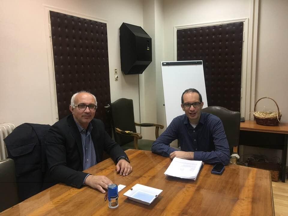 Συνάντηση Δημάρχου με το Γενικό Γραμματέα Εμπορίου κ. Αυλωνίτη