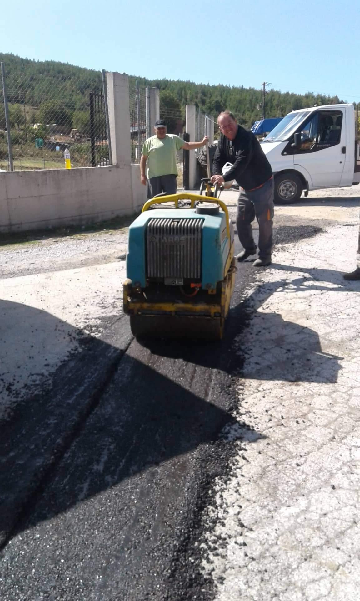 Επισκευή και συντήρηση οδικού δικτύου Δήμου Δεσκάτης