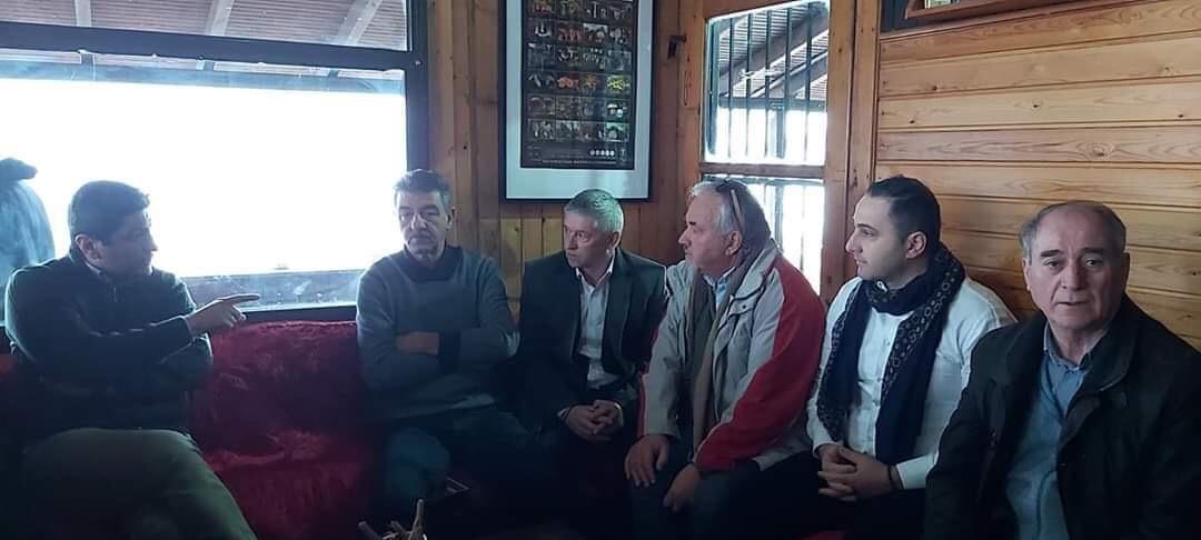 Συνάντηση Δημάρχου με Υφυπουργό Αθλητισμού