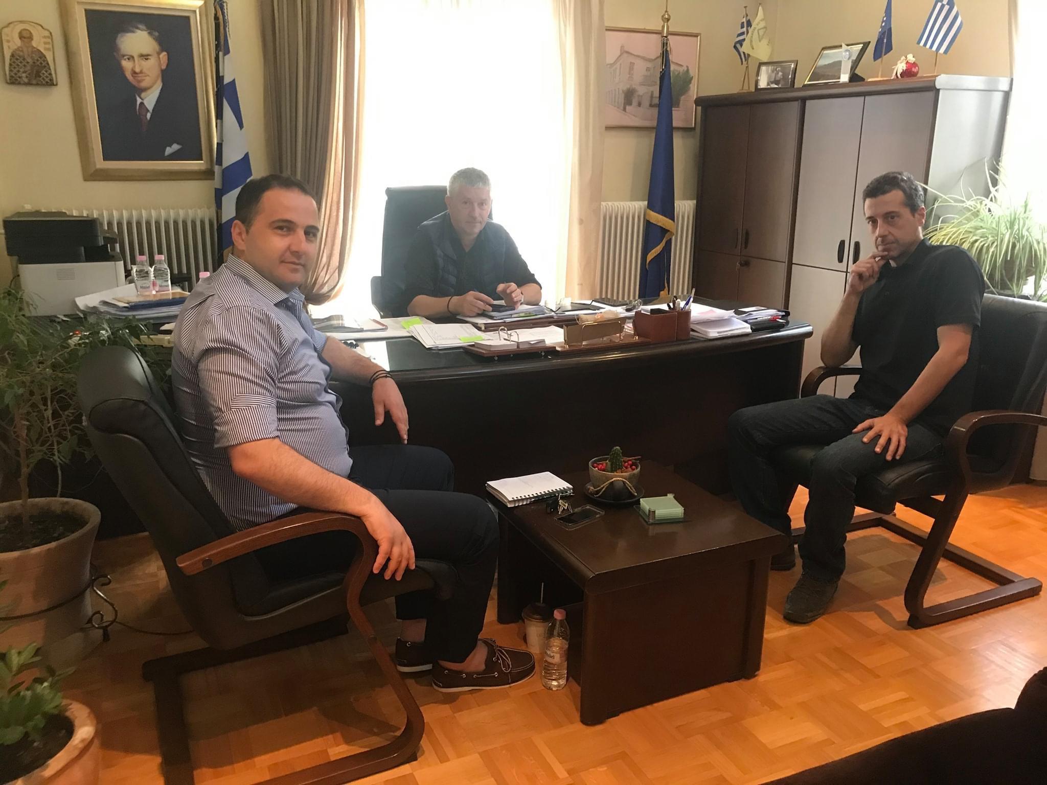 Επίσκεψη Περιφερειακού Συμβούλου