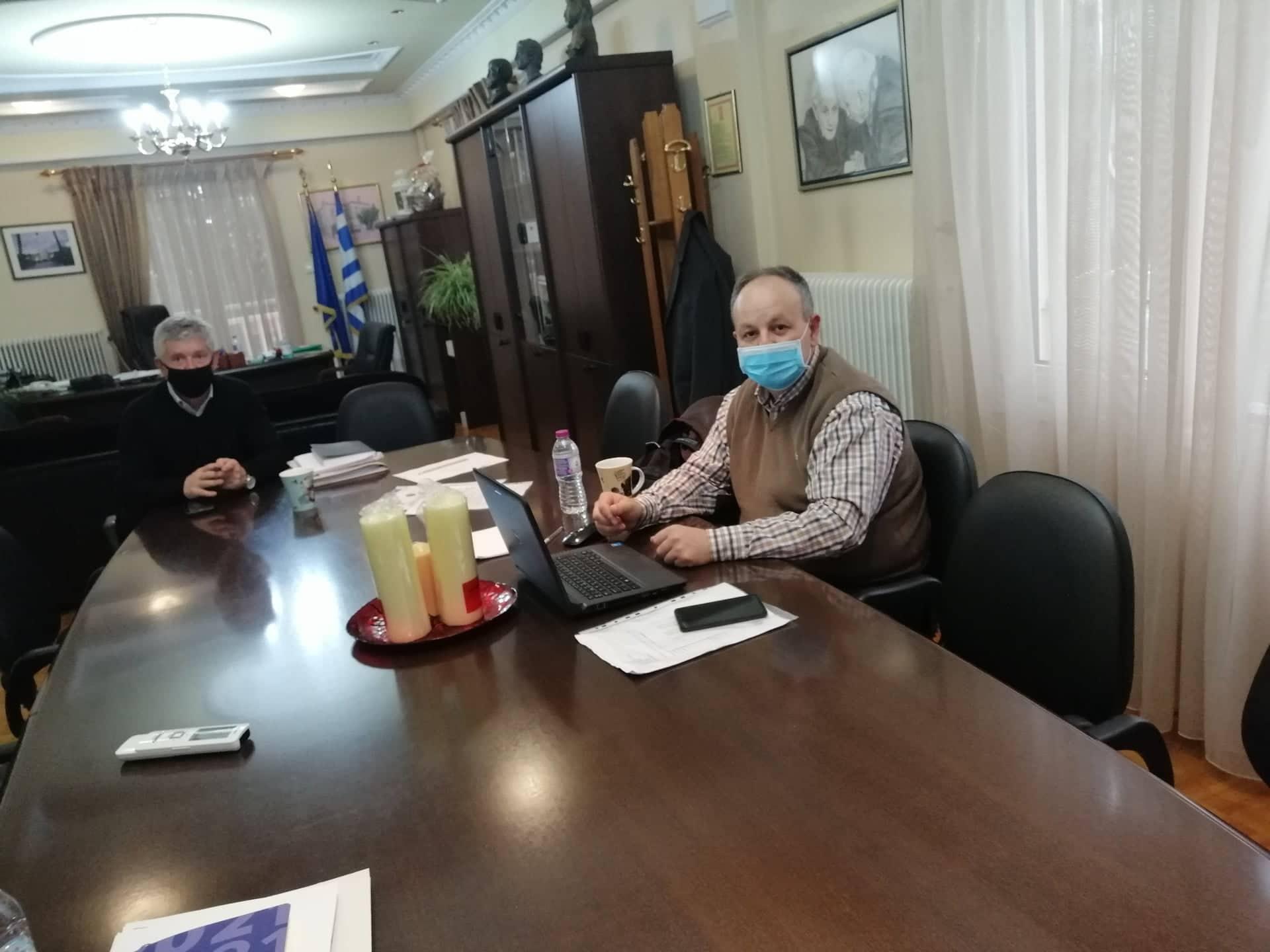 Συνάντηση του Δημάρχου Δεσκάτης κ. Κορδίλα Δημητρίου με τον Περιφερειακό Σύμβουλο κ. Χατζηζήση Λάμπρο